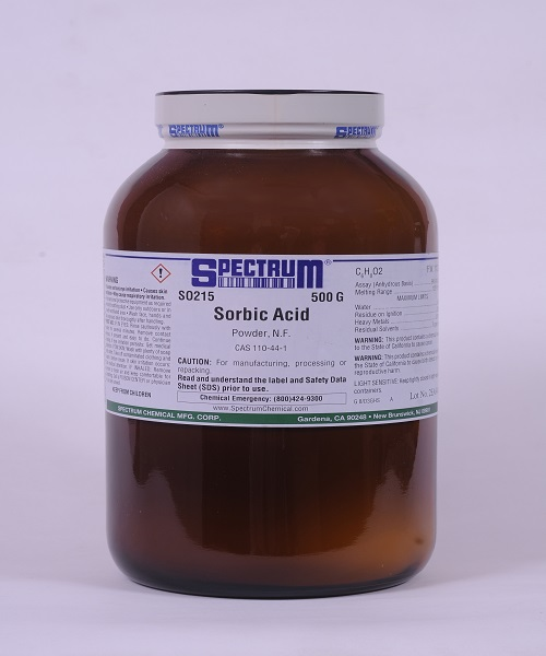 Sorbic Acid, Powder, NF